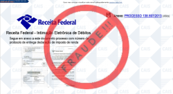 Receita Federal alerta sobre falso e-mail de multa